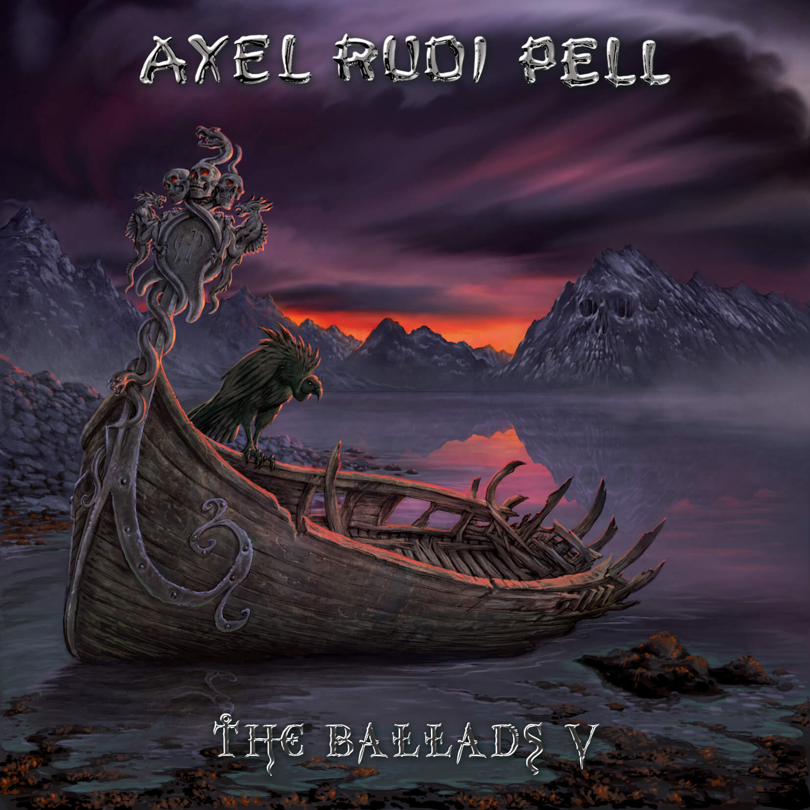 Image result for album art Axel Rudi Pell: The Ballads V